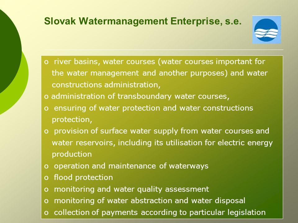 Slovak Watermanagement Enterprise, s.e.