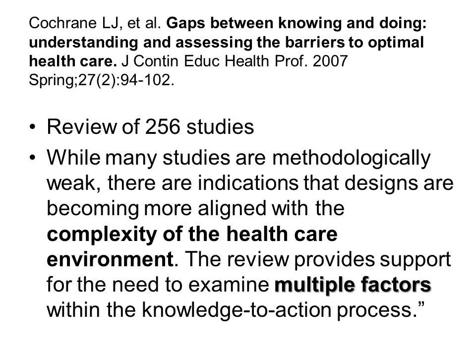Cochrane LJ, et al.
