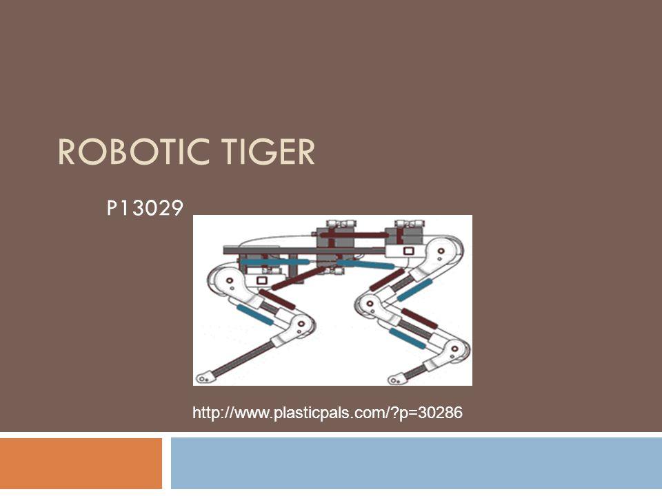 ROBOTIC TIGER P13029 http://www.plasticpals.com/?p=30286
