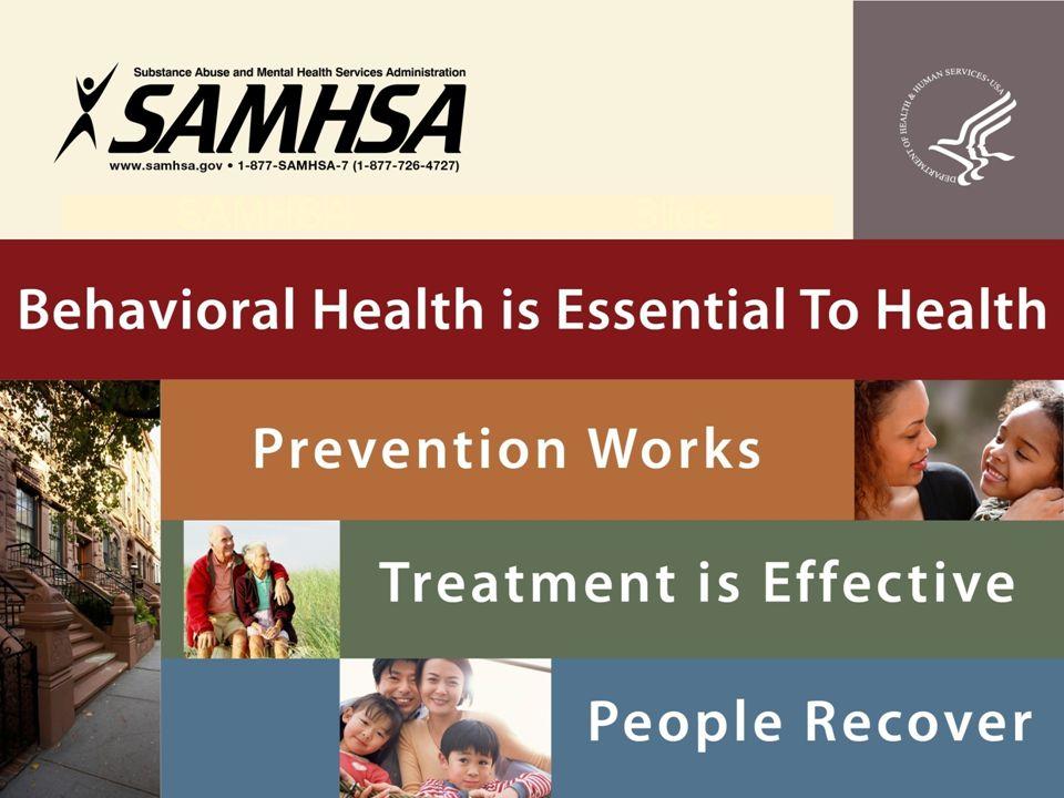 SAMHSA Standard Title Slide