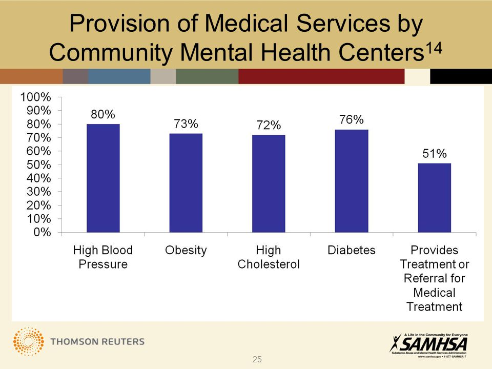 Provision of Medical Services by Community Mental Health Centers 14 25