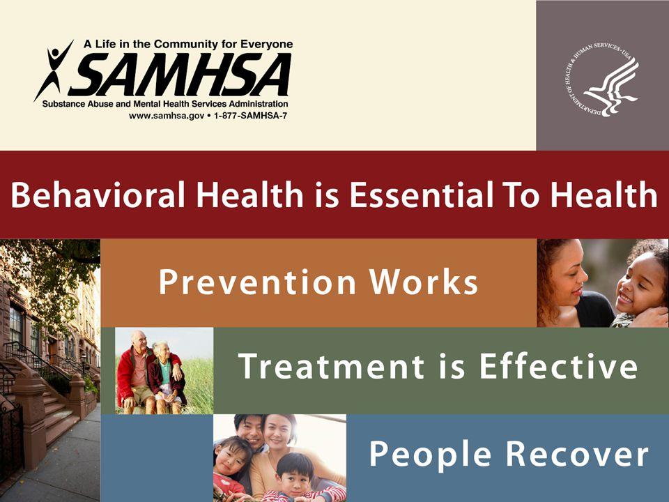 The Case for Physical-Behavioral Health Integration Tami Mark, Ph.D.