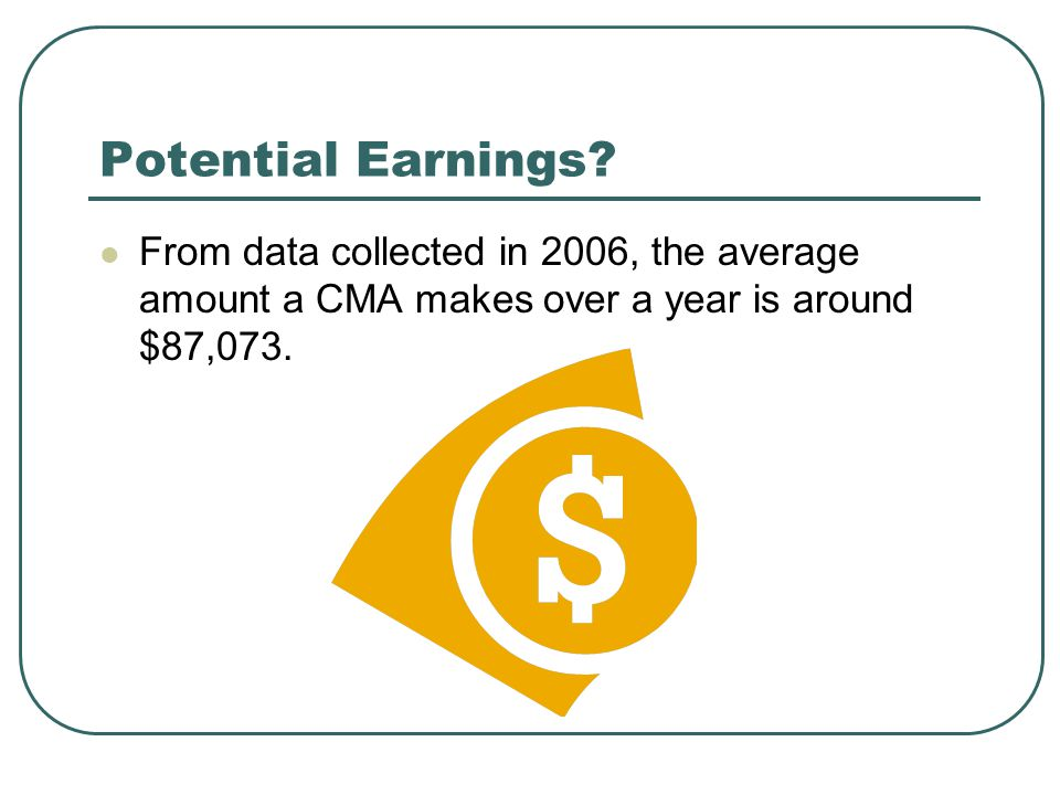 Potential Earnings.