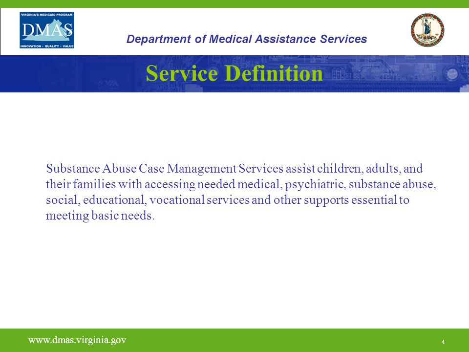 5 H0006 www.dmas.virginia.gov 5 Department of Medical Assistance Services Licensing