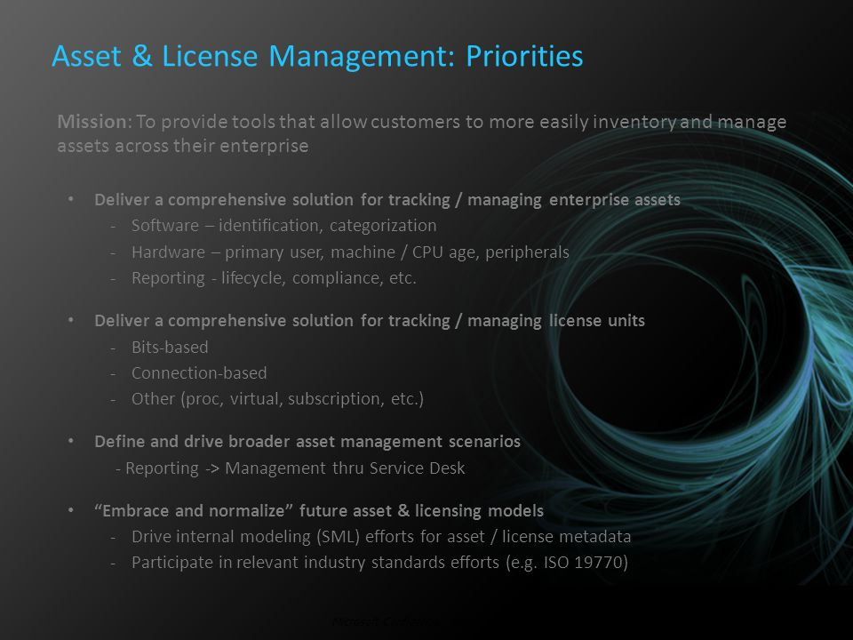 Software Asset Management A LAR Perspective………