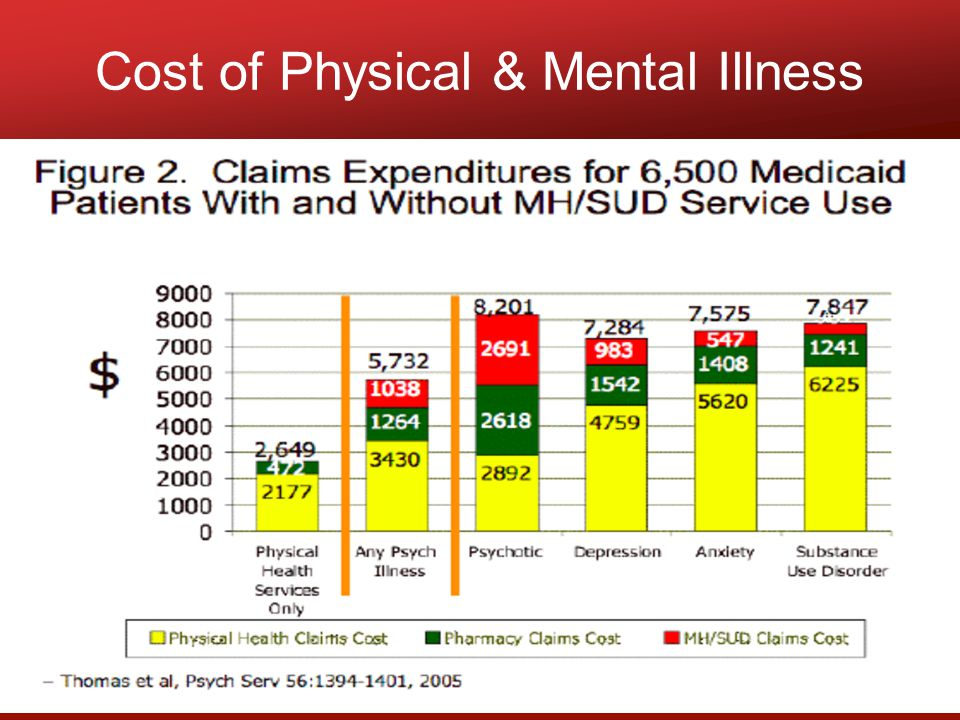 Cost of Physical & Mental Illness