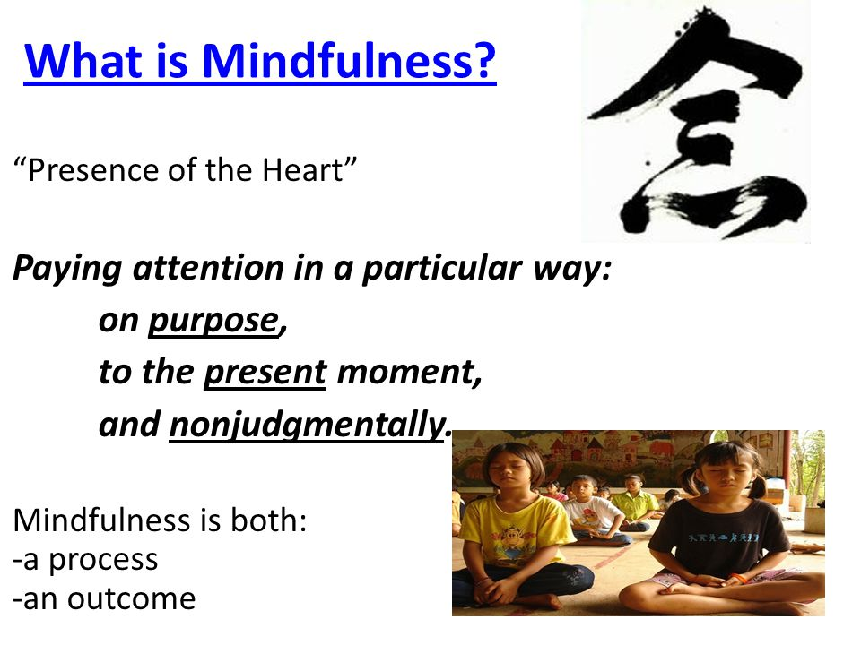 What is Mindfulness.