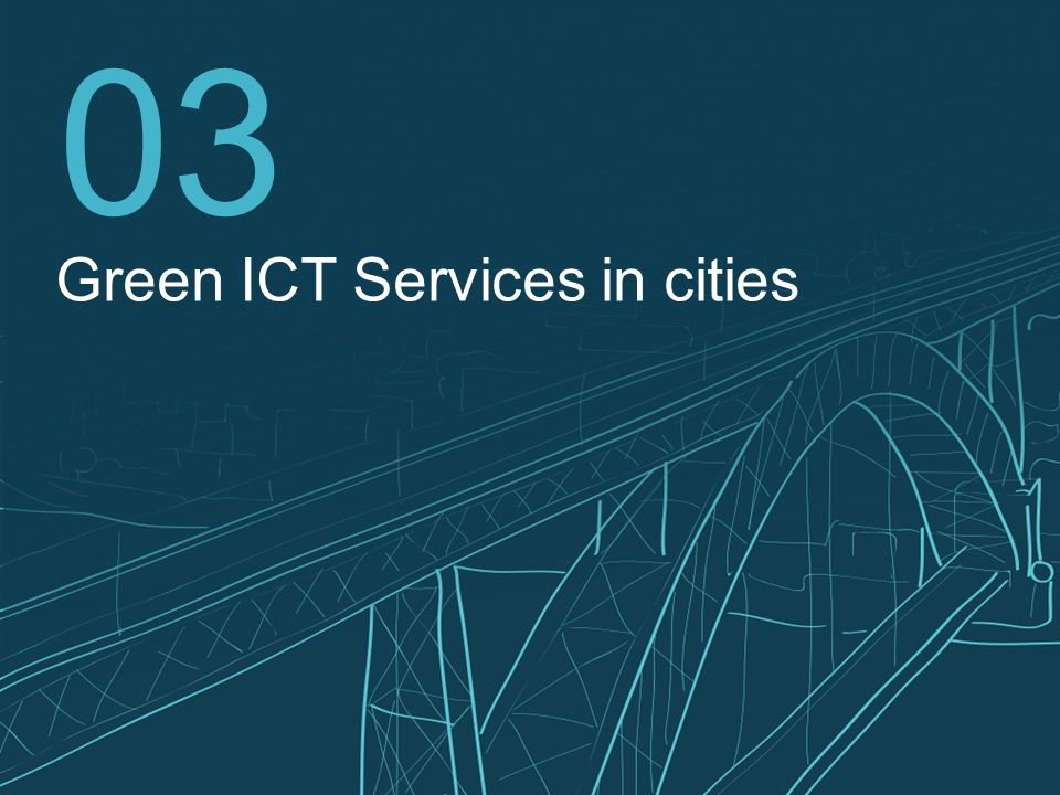 14 03 Green ICT Services in cities
