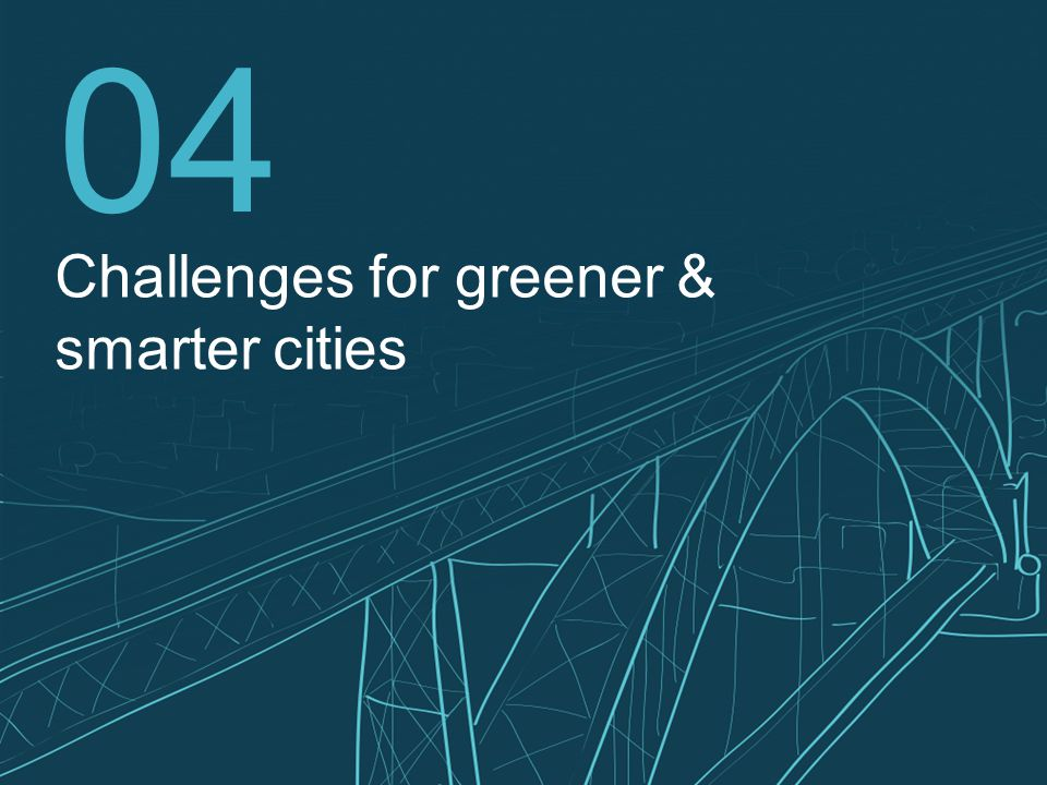 18 04 Challenges for greener & smarter cities