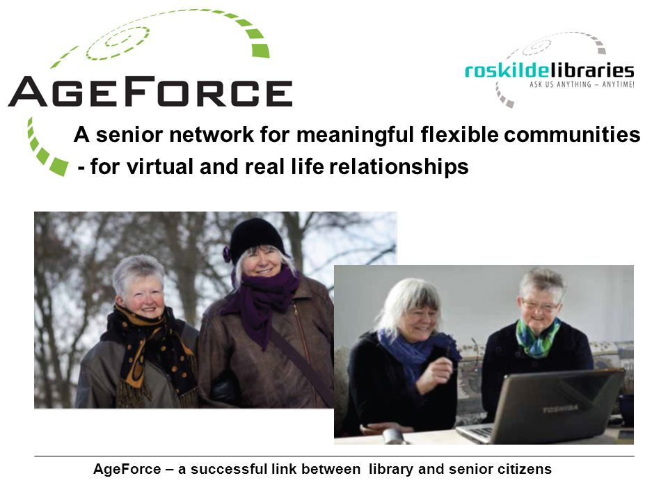 AgeForce – a successful link between library and senior citizens AgeForce – your new home?