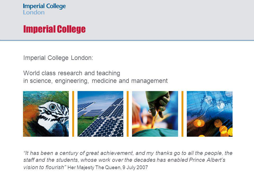 Our standing Times Higher Education Supplement World University Rankings: 3 rd in Europe5 th in Worldoverall 2 nd in Europe 6 th in Worldfor engineering / information technology 3 rd in Europe10 th in Worldfor natural sciences 3 rd in Europe17 th in Worldfor life sciences/biomedicine Times Good University Guide 2010 3 rd in UK Sunday Times Good University Guide 2010 3 rd in UK The Independent Complete University Guide 2010 3 rd in UK