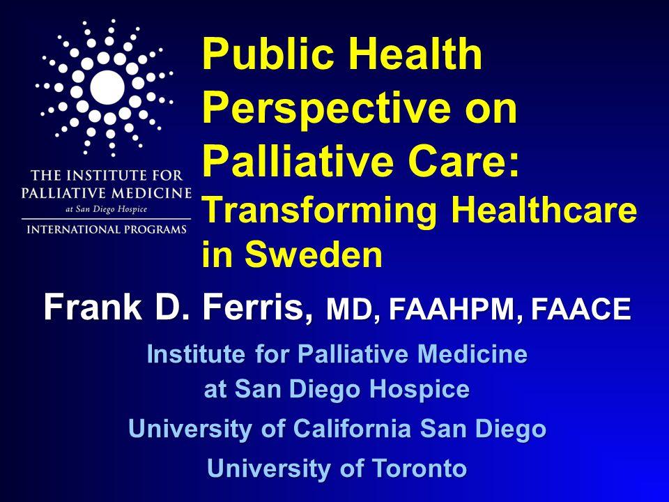 2002 National Model Canadian Hospice Palliative Care Association Consensus Consensus Common language Norms of practice English et Français English et Français