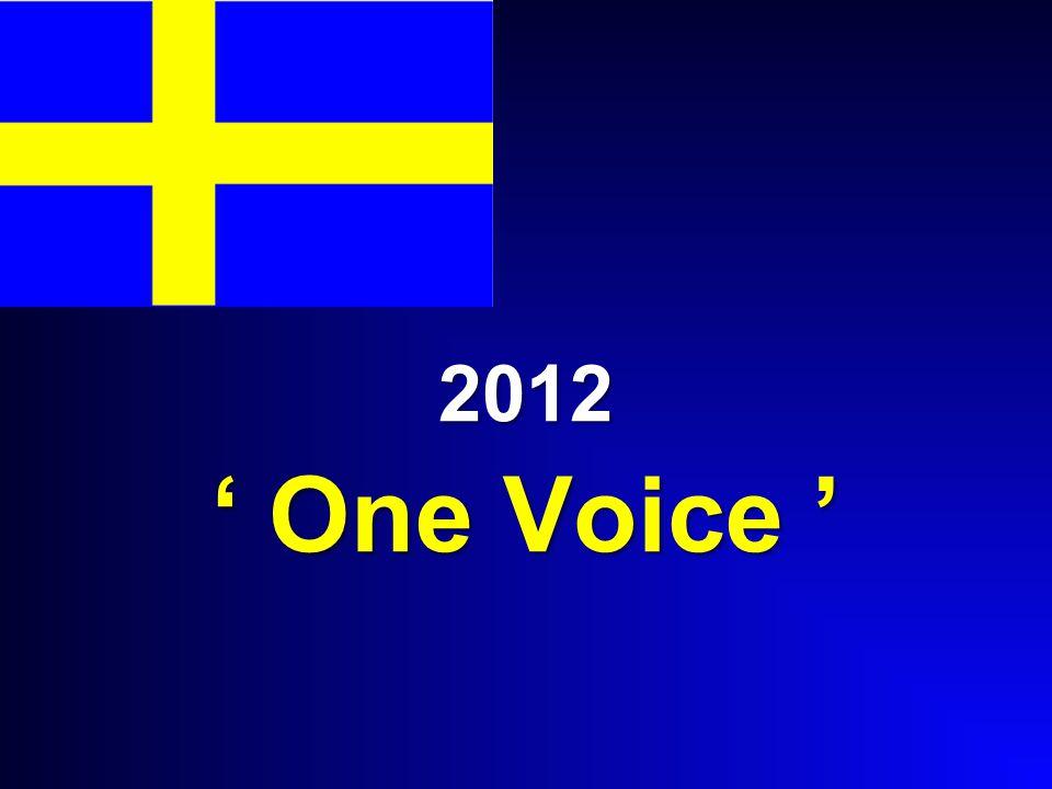 2012 ' One Voice '