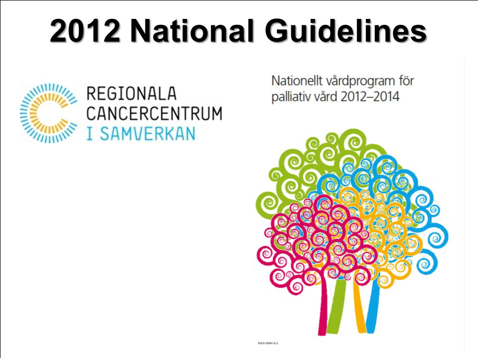 2012 National Guidelines