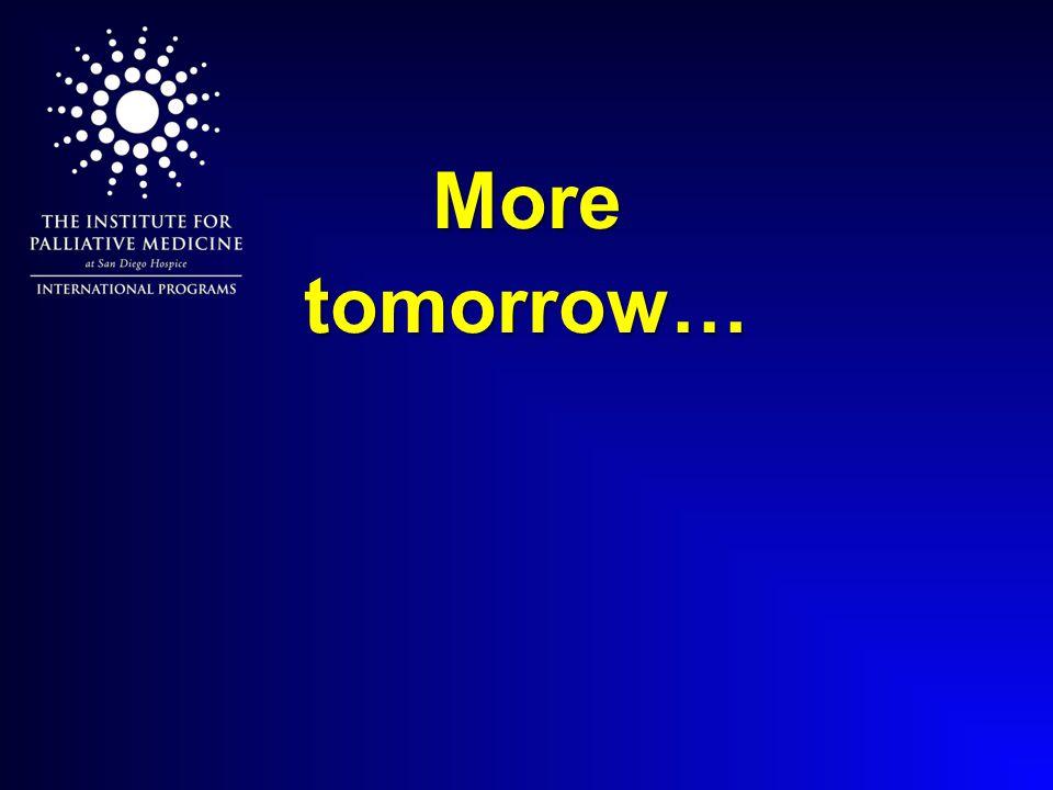 More tomorrow…