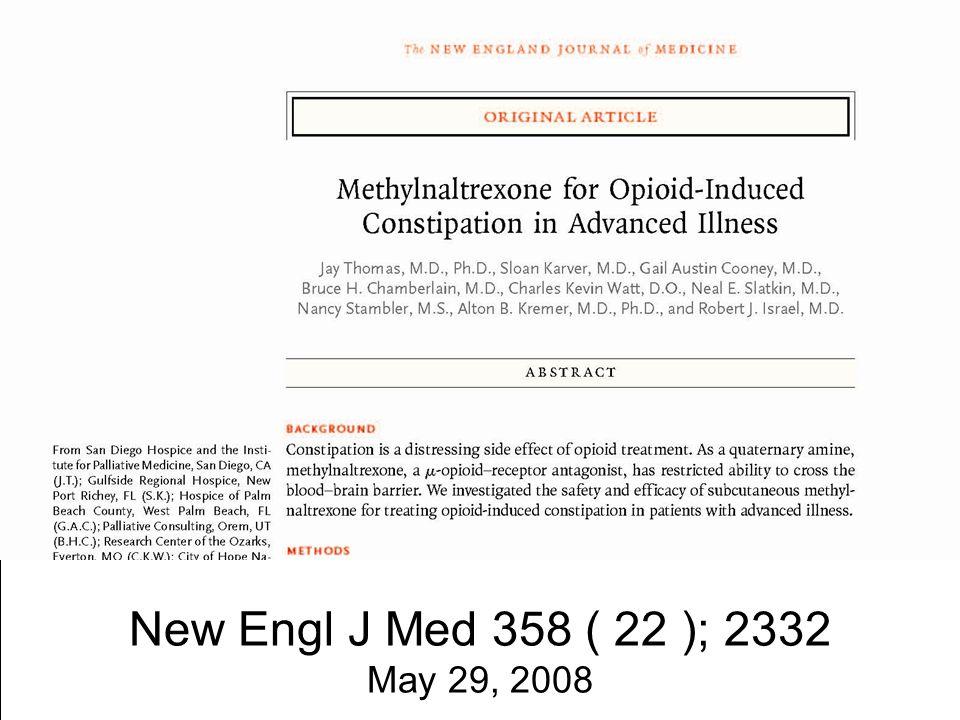 New Engl J Med 358 ( 22 ); 2332 May 29, 2008
