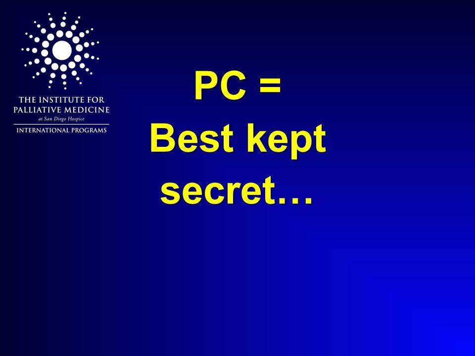 PC = Best kept secret…