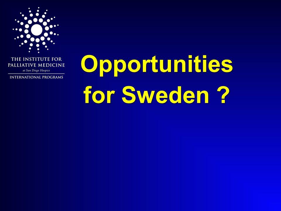 Opportunities for Sweden