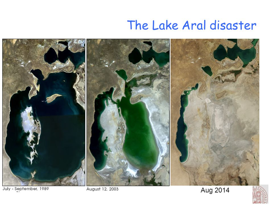 27 The Lake Aral disaster Aug 2014