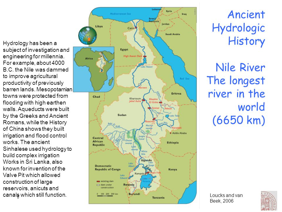 9 Ancient Hydrologic History There were many Nilometers in Egypt, but the most important ones were at Elephantine Island.
