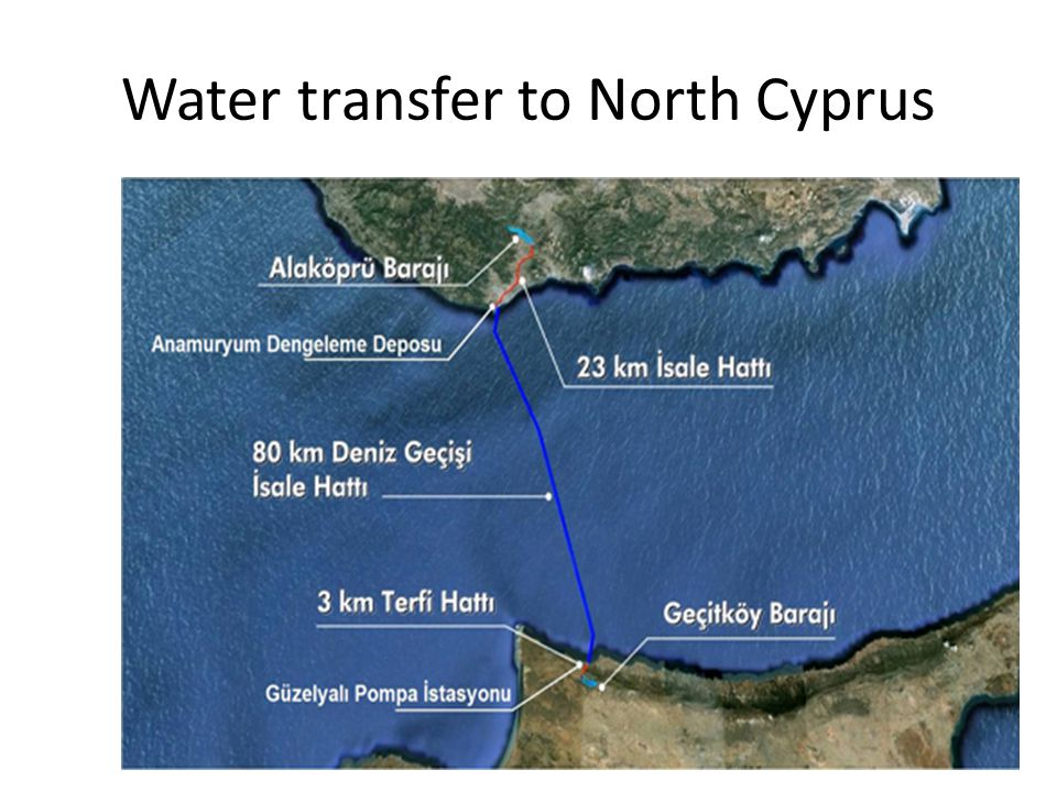 Water transfer to North Cyprus