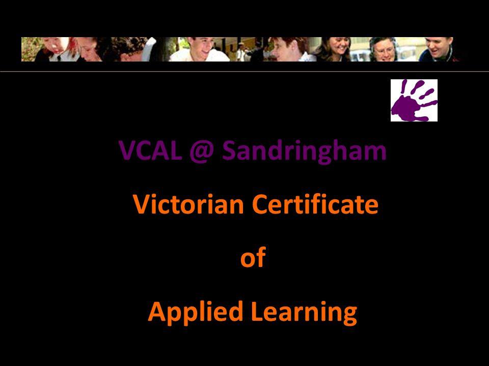 College website http://www.sandringhamsc.vic.edu.au/ - Senior Campus Enrolment 2013 link