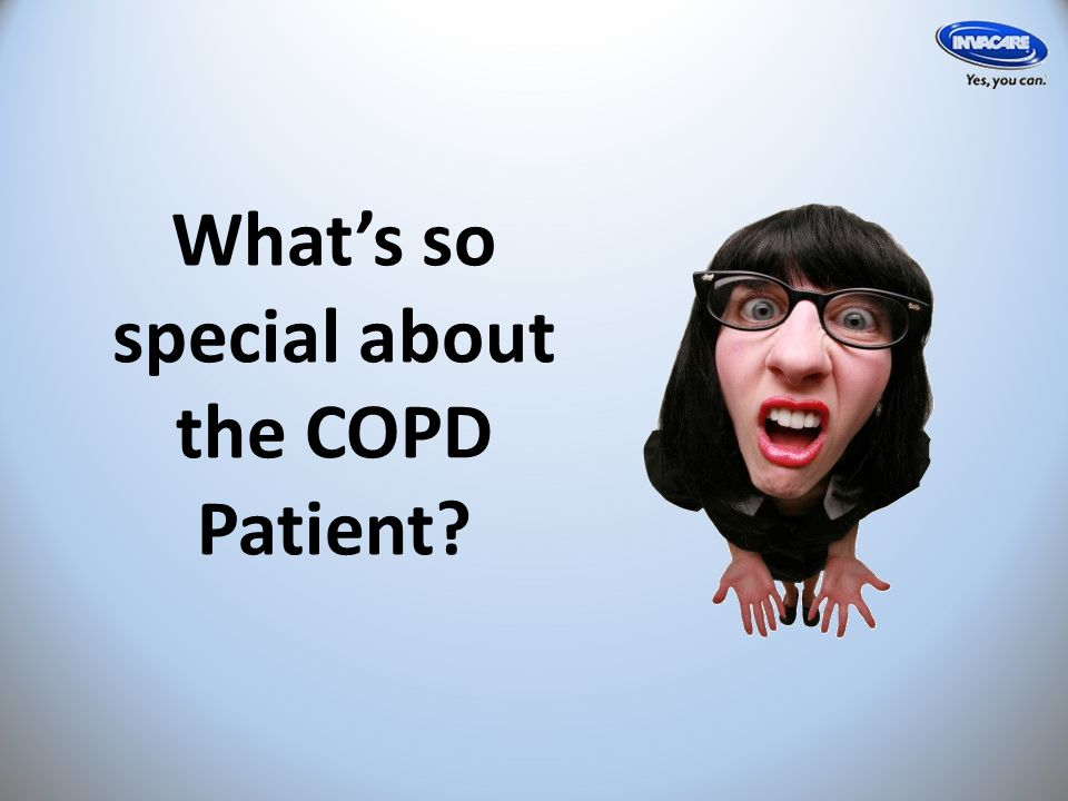 What's so special about the COPD Patient