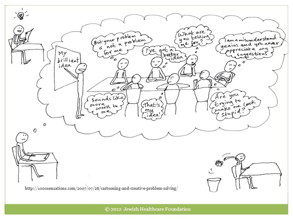 http://1000sensations.com/2007/07/28/cartooning-and-creative-problem-solving/ © 2012 Jewish Healthcare Foundation