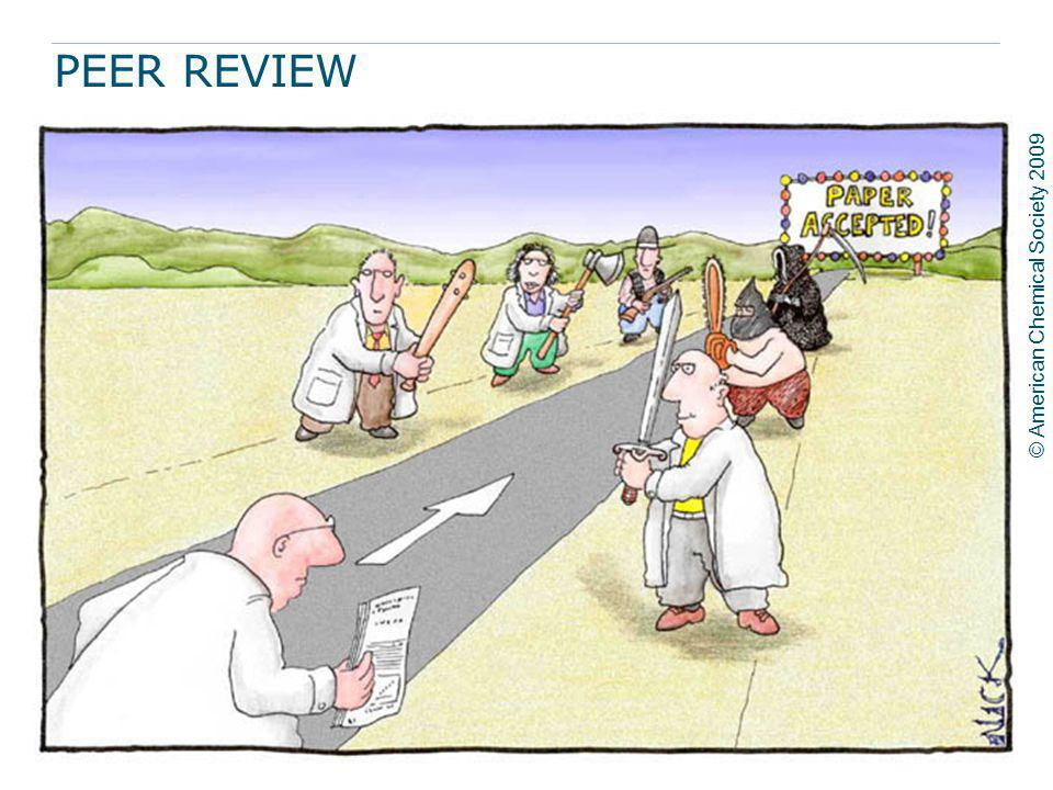 PEER REVIEW A standard procedure in scholarly publishing, whereby a prospective publisher submits the manuscript of an article to experts in the resea
