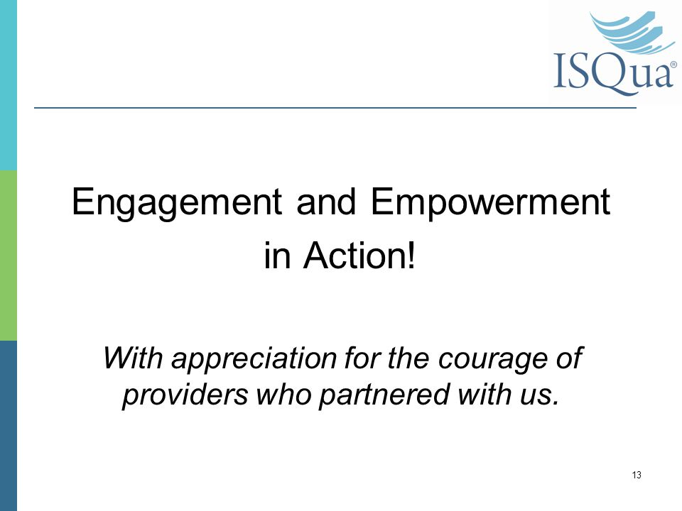 Engagement and Empowerment in Action.