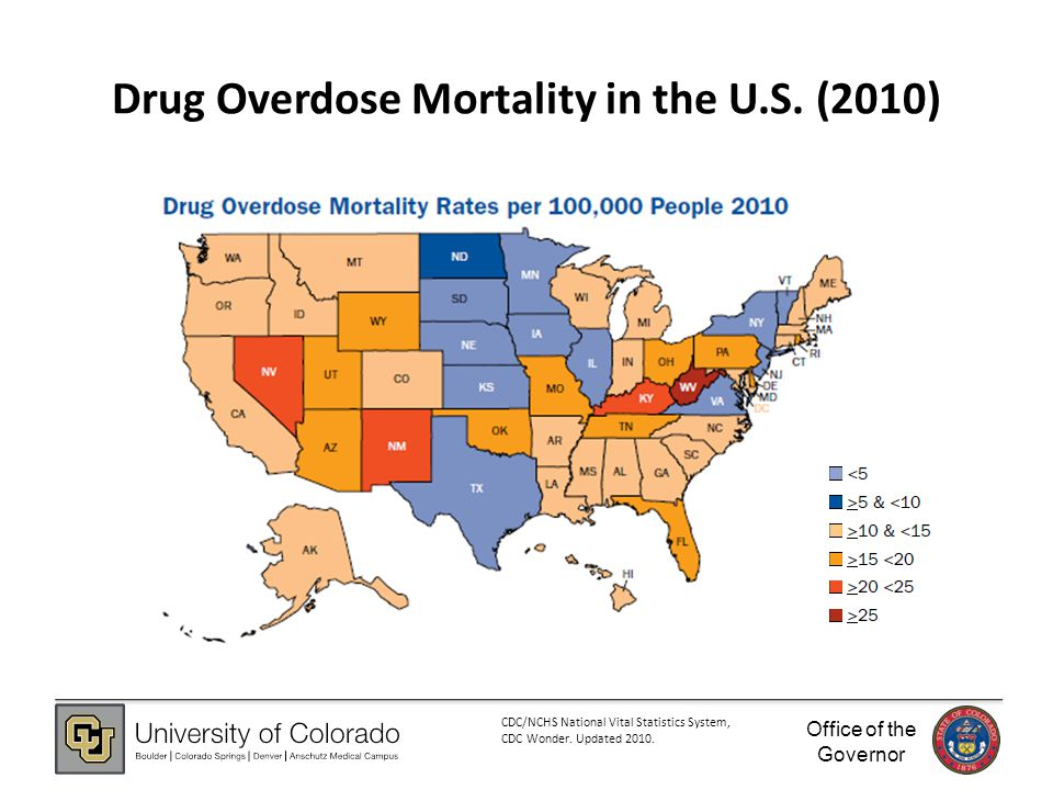 Office of the Governor Drug Overdose Mortality in the U.S.