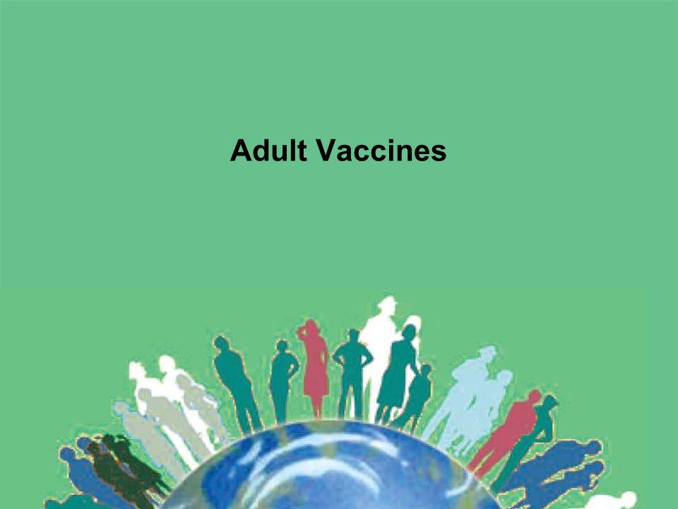 Adult Vaccines
