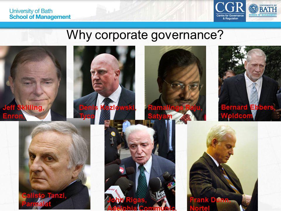 Jeff Skilling, Enron, Bernard Ebbers, Woldcom Frank Dunn, Nortel John Rigas, Adelphia Communic.