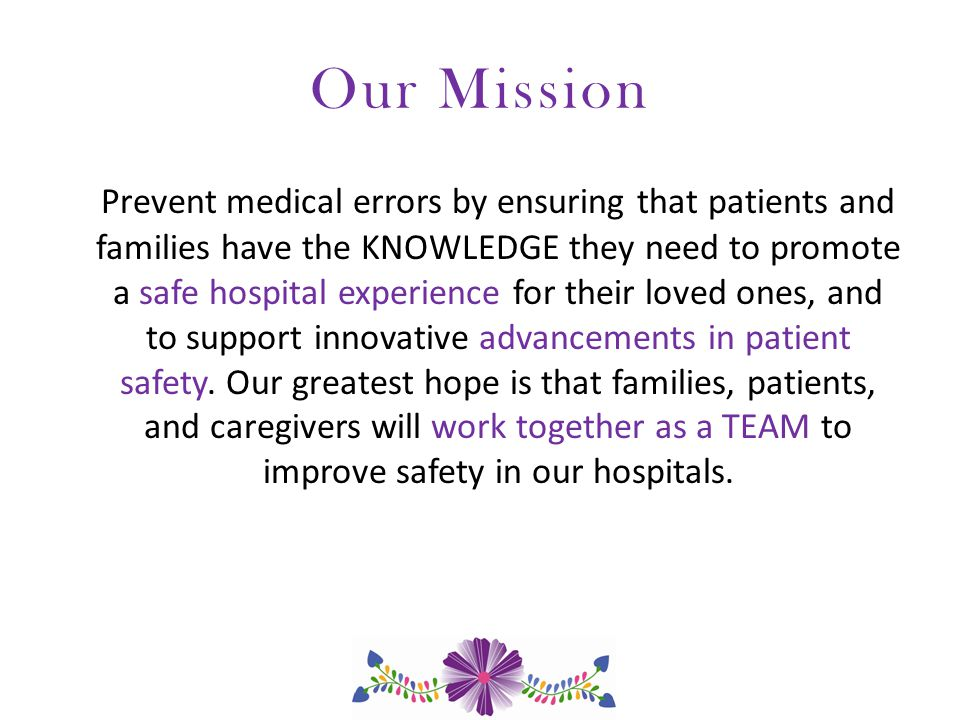 Areas of Focus: Online Resources and Community Outreach Create resources to help patients and families answer questions before you go into the hospital, while you are in the hospital, and after you go home from the hospital.