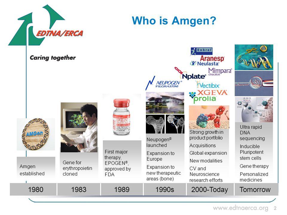 2 Who is Amgen.