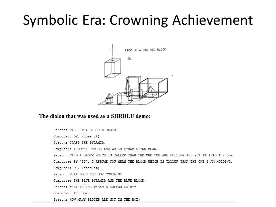 Symbolic Era: Crowning Achievement
