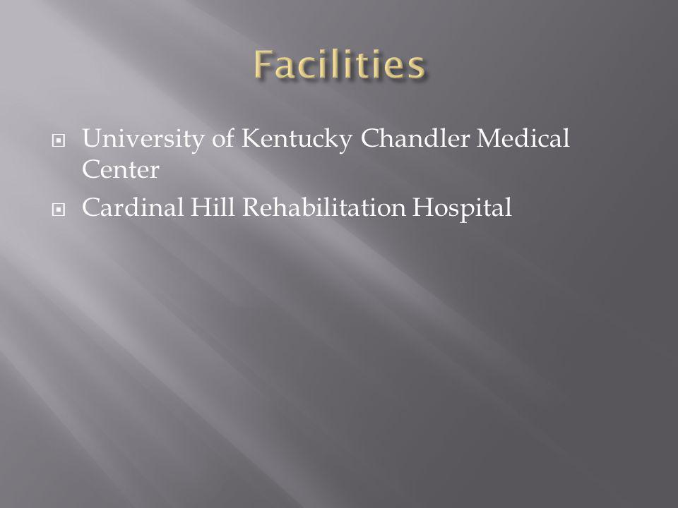  University of Kentucky Chandler Medical Center  Cardinal Hill Rehabilitation Hospital
