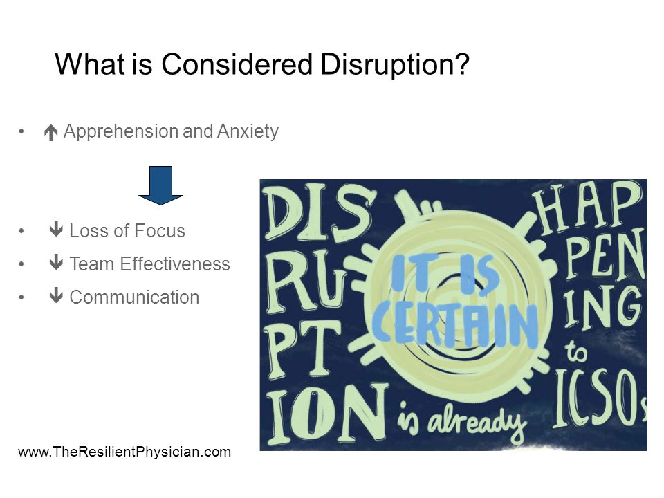 What is Considered Disruptive.