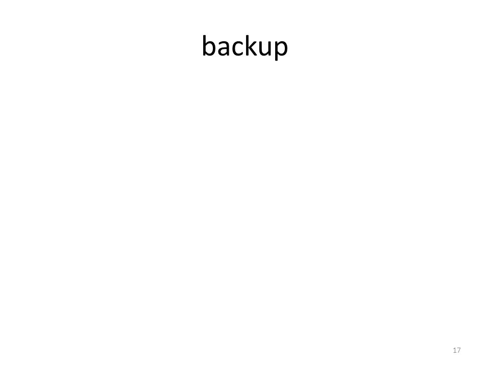 backup 17