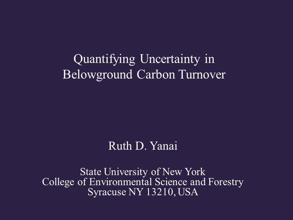 62 Minirhizotron Estimates of Root Production and Turnover