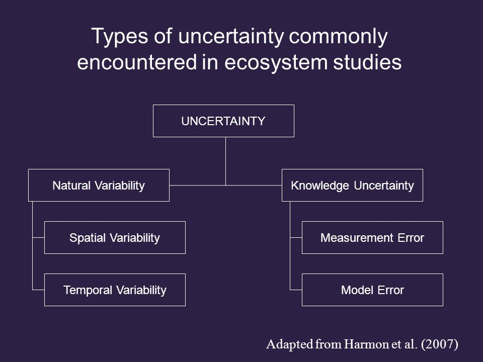 Bormann et al. (1977) Science How can we assign confidence in ecosystem nutrient fluxes?
