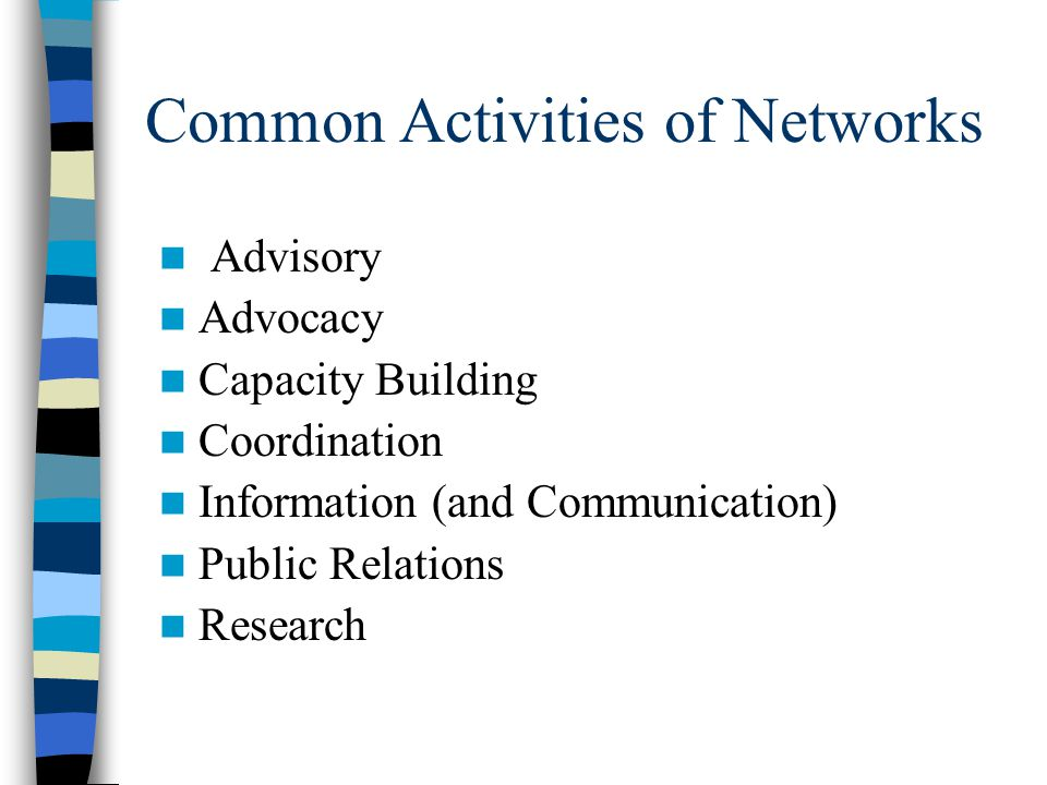 Community of Practice Knowledge Networks – new strategic imperative for organizations Need to distinguish between Knowledge and Information KM is abou
