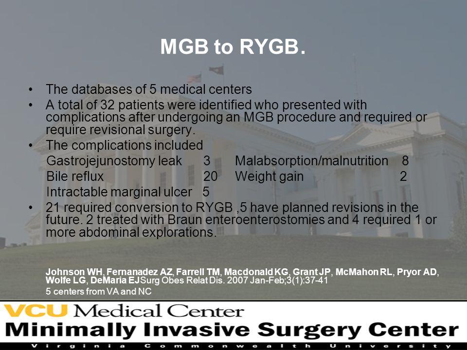 MGB to RYGB.