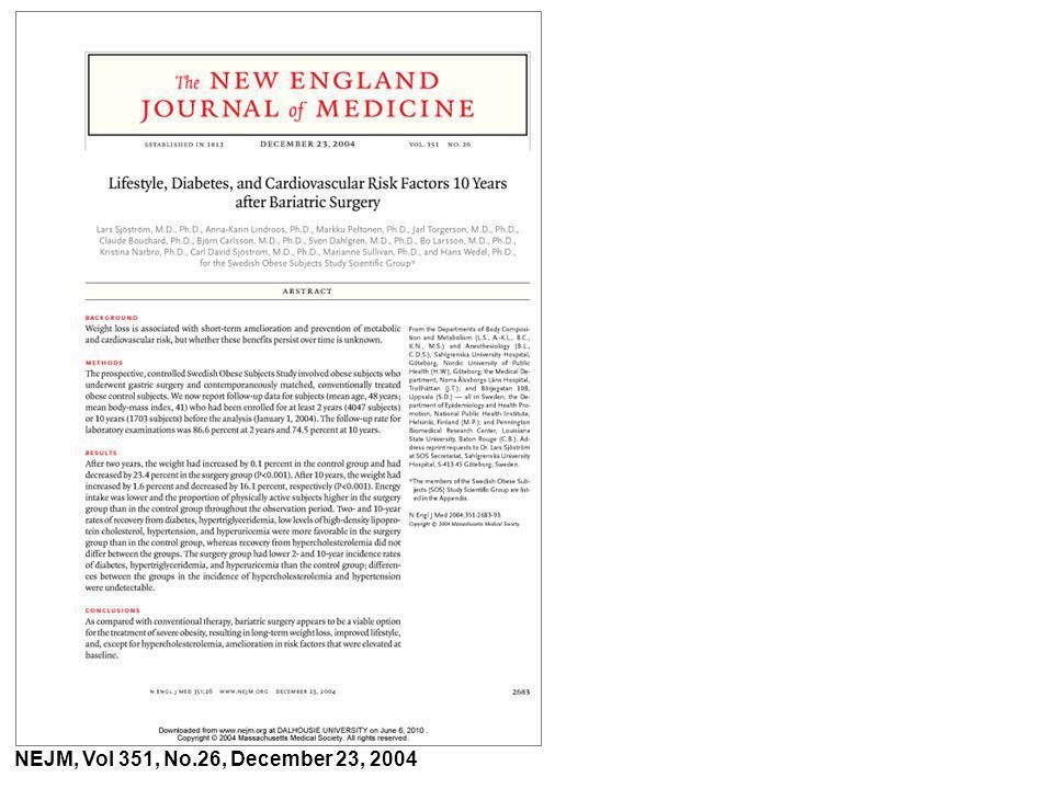 NEJM, Vol 351, No.26, December 23, 2004
