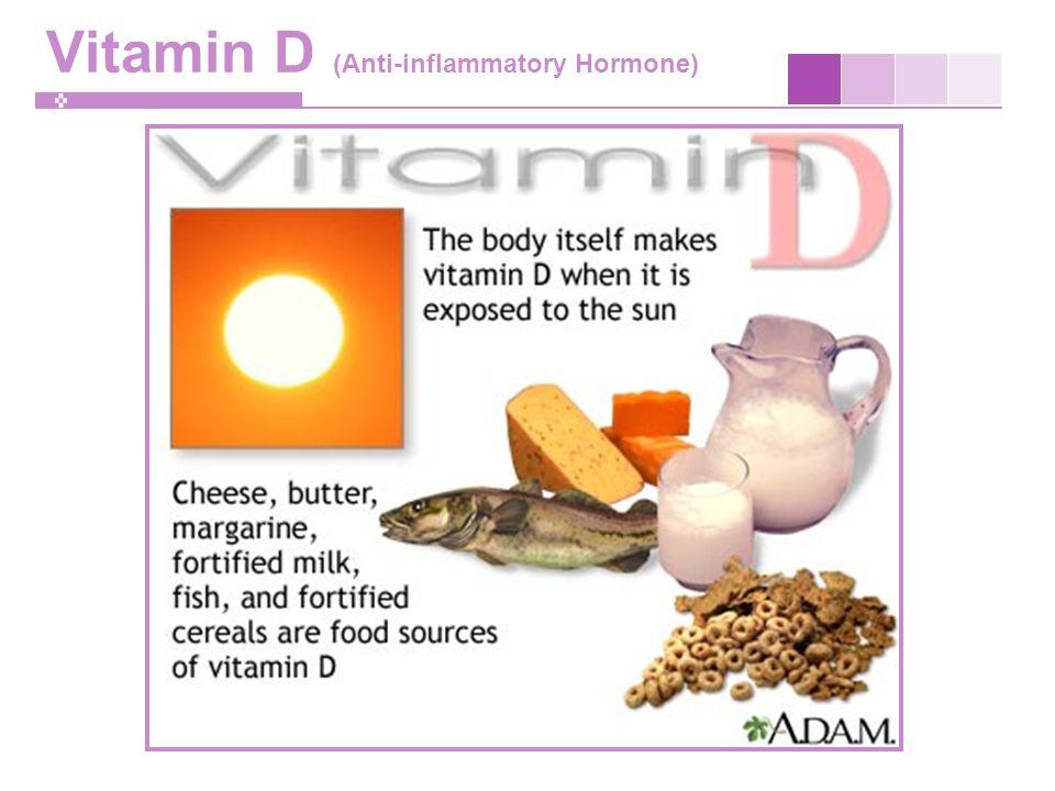 Vitamin D (Anti-inflammatory Hormone)