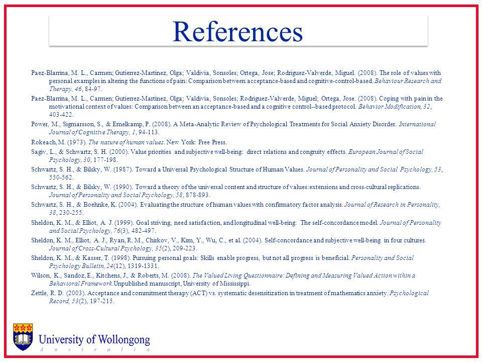 References Paez-Blarrina, M.