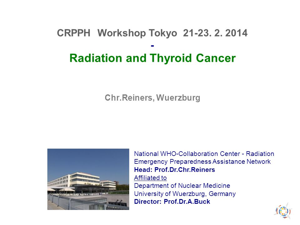Radiation Induced Thyroid Cancer ISI Web of Science 15.02.14: 1702 Publications since 1950 1970 1980 1990 2000 2010