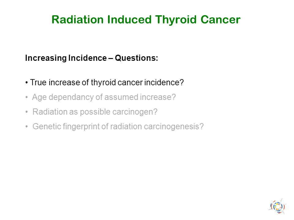 Radiation Induced Thyroid Cancer Outline: 1.Thyroid Cancer Epidemiology Worldwide 2.