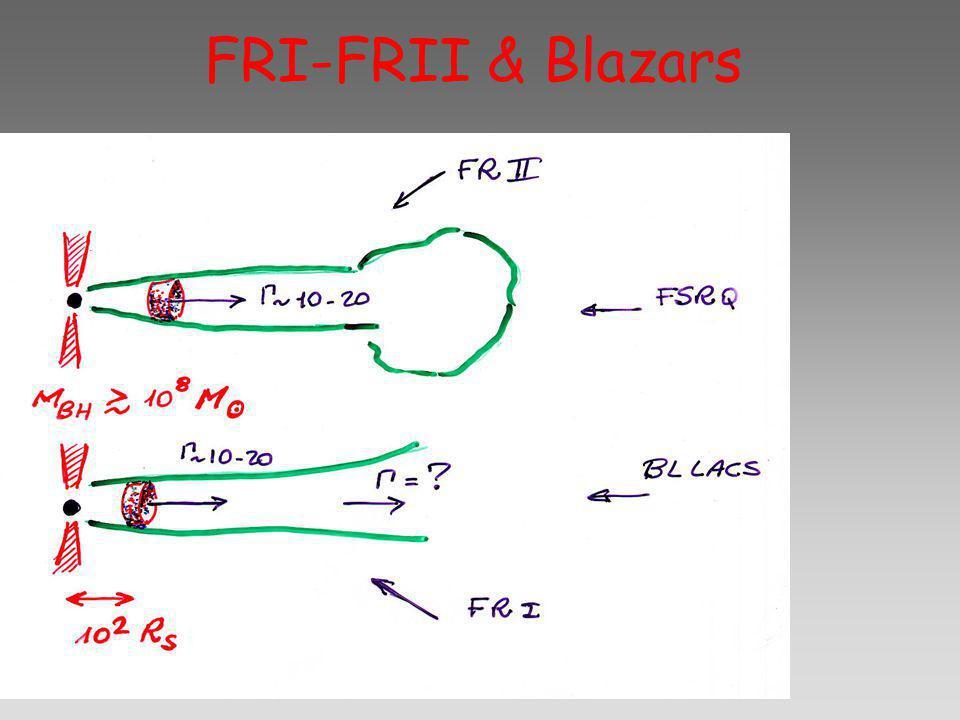 FRI-FRII & Blazars