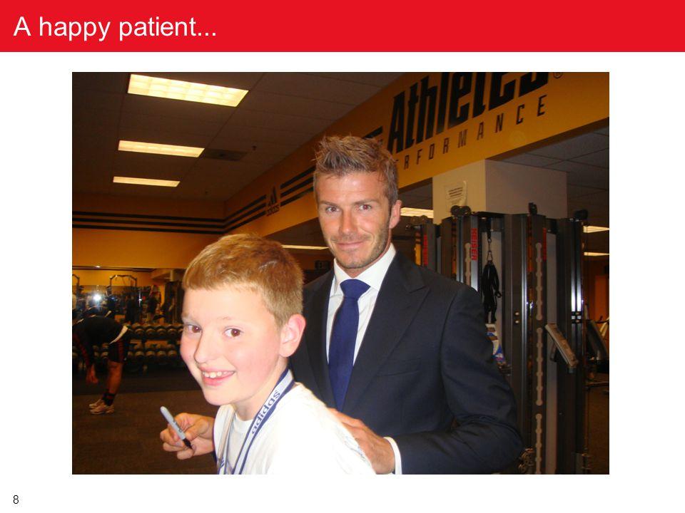 8 A happy patient...